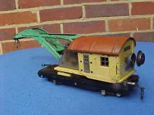 VINTAGE LIONEL O GAUGE  RAILWAY 810 CRANE
