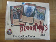 Blood Wars Escalations Packs Set 1 Rebels & Reinforcements Booster Display NEW