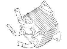 Genuine Nissan Oil Cooler Assembly-Auto Transmission 21606-28X1A