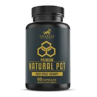 Premium Natural PCT | Cycle Support Supplement, Testosterone Booster | Natural