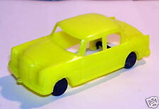OLD MICRO 1/72 no HO MERCEDES 220 JAUNE GERMANY