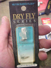 F3 Skykomish flies fly fishing lures dry California Mosquito size 16 new