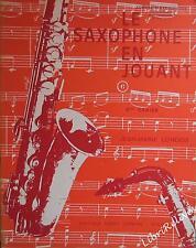 J-M LONDEIX - Le Saxophone en jouant - 4ème cahier