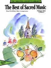 The Best of Sacred Music Sheet Music Volume One - A-L Creative Concept 000315173