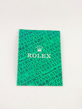 Rolex Oyster brochure 12 languages Official chronometer certification