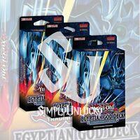 EGYPTIAN GOD DECK: OBELISK THE TORMENTOR x3 | 120 CARDS YuGiOh Presale 6/9/21