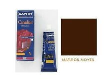 CIRAGE CANADIAN MARRON MOYEN SAPHIR 75ML entretien cuir