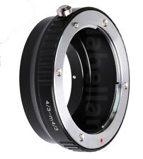 FITS Olympus Zuiko 4/3 lens to MICRO FOUR THIRDS m4/3 mount adapter ring mmf-3