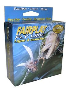 Cortland 326071 Fairplay Fly Line Floating Assorted 84 Ft WF7F