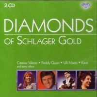 Diamonds of Schlager Gold Caterina Valente, Freddy Quinn, Ulli Martin, .. [2 CD]