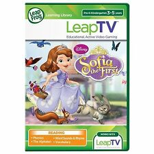 LeapFrog LeapTV Disney Sofia the First Educational Active Video Gaming