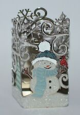 NEW BATH & BODY WORKS SNOWMAN GLITTER GENTLE FOAMING HAND SOAP SLEEVE HOLDER