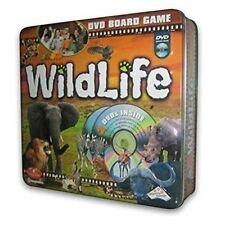 WILDLIFE DVD Board Game Safari Animals Collectible TIN By Imagination  NEW