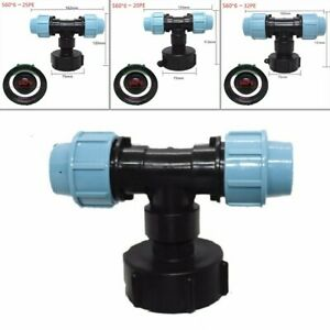 Water-Pipe Connector Garden Lawn Hose IBC Adapter Practical Tap Fitting Tool