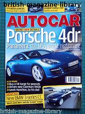 Autocar 4/4/2007 Road Test: Corsa VXR Caterham R400 335i convertible v S4 v CLK