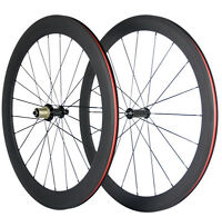 700C 50mm Clincher Carbon Wheels Ceramics R36 Road Bike Touring Carbon Wheelset