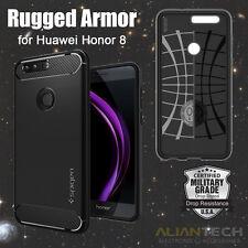 Original Spigen Huawei Honor 8 Case Rugged Armor Black L09CS20884