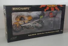 1:12 Minichamps Valentino Rossi 2001 Honda NSR 500 Team Nastro Azzurro GP 2001