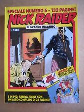 NICK RAIDER Speciale n°6 Edizione Bonelli    [G363] con albo