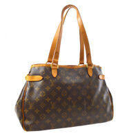 LOUIS VUITTON BATIGNOLLES HORIZONTAL SHOULDER BAG PURSE M51154 CA1026 A53061