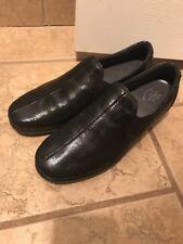 SAS Tripad Women's Black Shiny Black Loafer Slip Ons 9.5 N *worn once* D3103637