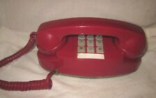 Western Electric RED Princess Touchtone Telephone Model 2702