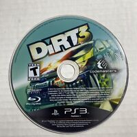 DiRT 3 (Sony PlayStation 3) PS3 Disc only Video Game Free Ship Good Condition
