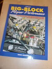 Big Block Mopar B & RB Engine Performance & Mods HANDBOOK MANUAL CHUCK SENATORE