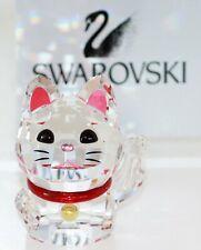 Swarovski Original Figur Winkende Katze Lucky Cat 5301582 Neu mit Verpackung