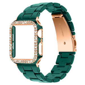 Bling Diamond Band Strap For Apple Watch iWatch Series 7 6 5 4 3 2 38/40/42/44mm