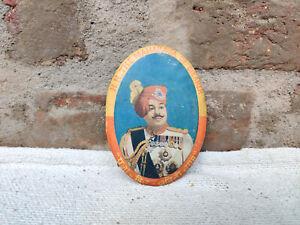 1950 Vintage Bikaner State Lieutenant General Sir Sadul Singh Maharaja Tin Frame