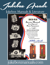 Rock-Ola for 1941 Music Equipment Manual covers Jukeboxes and Equipment listed