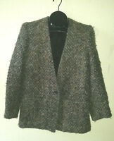 VTG Cute 1-Button PETITE ILLUSTRATIONS Jacket Size 4 Lined w/Pockets Wool maybe