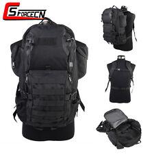 35L Laptop Notebook Molle Backpack Rucksack Day Pack Bag Military Tactical Black