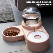 1.8L Bubble Pet Bowls Food Automatic Feeder Fountain Water Drinking for Cat Dog
