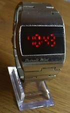 Detroit Mint Astro Time Computer Vintage Retro Look Digital Red LED Watch