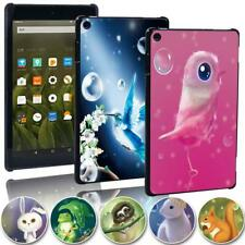Printed animal Slim Tablet Cover Case for Amazon Fire 7 HD 8 / 8 Plus HD 10