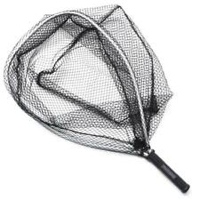 Fly Fishing Landing Net Nylon Mesh Trout Catch Release Scoop Hand-Nets DEKOR