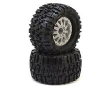 "PRO1170-25 Pro-Line Trencher 2.8"" Tires w/F-11 Nitro Rear Wheels (2) (Grey) (M2)"