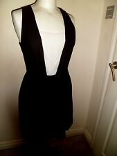 AX Armani Exchange Black Pleated Dress Size 2 Worn Once