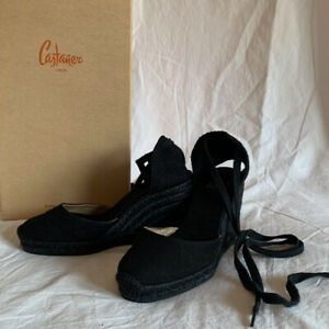 Black Castaner Espadrilles UK 3.5 EU 36 RRP £147 SOLD OUT