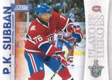 2010-11 Score Playoff Heroes #16 P.K. Subban Montreal Canadiens