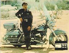 Electra Glide in Blue German lobby card Harley Davidson 344 Robert Blake bike