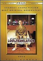 Lost In Translation Full Screen Dvd-*Disc Only*With Tracking