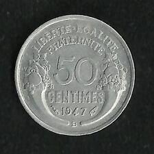50 ct Morlon Alu 1947 B SUP