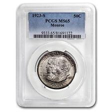 1923-S Monroe Doctrine Commem Half Dollar MS-65 PCGS - SKU #44254