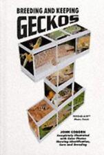 Breeding & Keeping Geckos by John Coborn New hardback