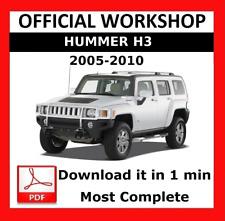 >> officiel Workshop Manual Service Réparation HUMMER H3 2005 - 2010
