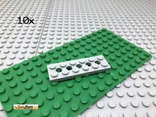 LEGO® 10Stk Platte Plate Hellgrau 32001 2x6 Technic Lochplatte