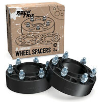 """2pc 2.0"""" (50mm) HUBCENTRIC Wheel Spacers Adapters 6x139.7 to 6x139.7 For Toyota"""